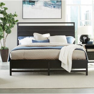 Thomas Sleigh Upholstered Bed by Standard Furniture