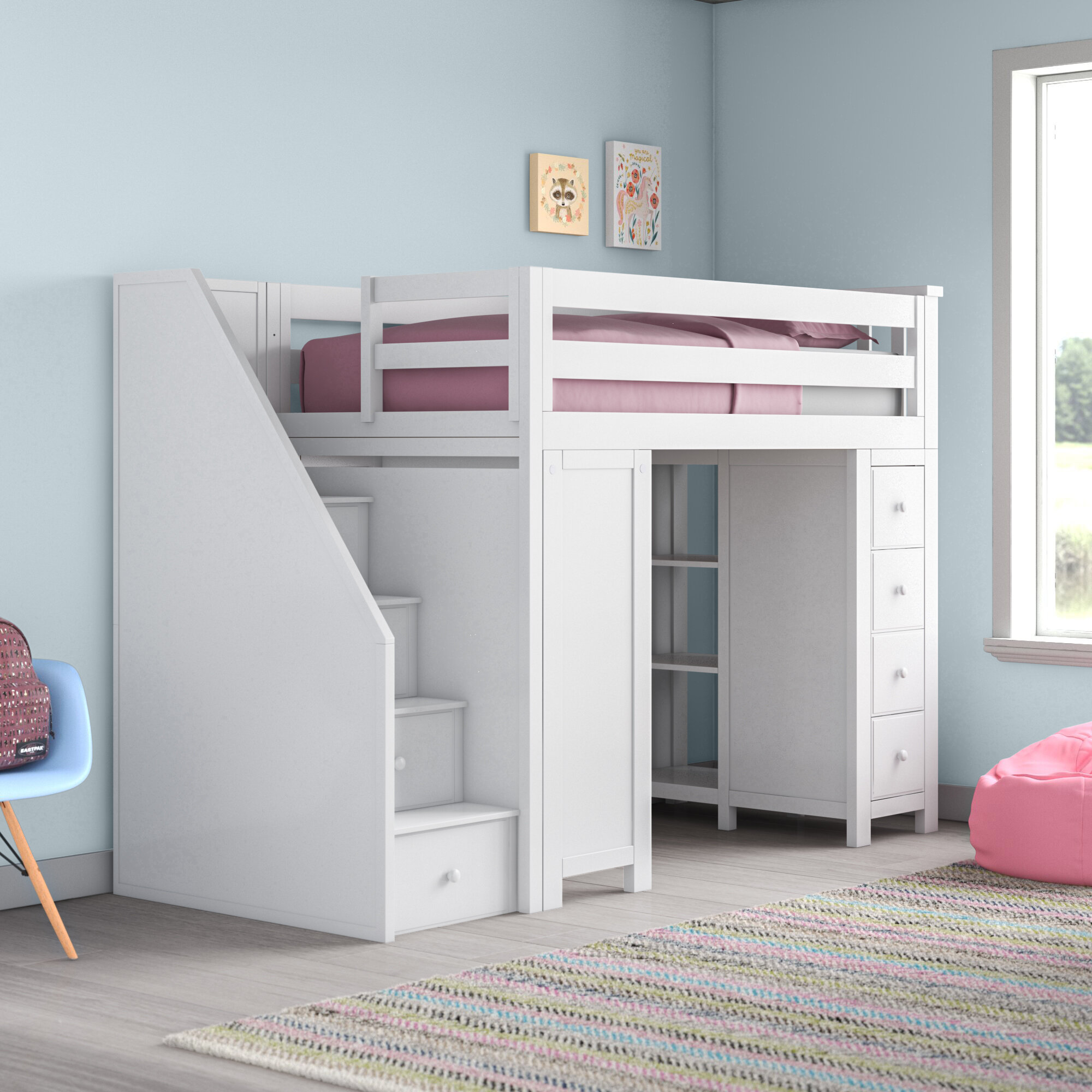 Picture of: Twin Loft Beds With Desks You Ll Love In 2020
