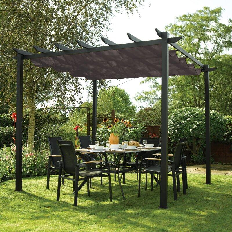 Sol 72 Outdoor Glenhaven W 3 x D 3m Retractable Patio ...
