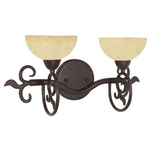 Charlton Home Sandia 2-Light Vanity Light