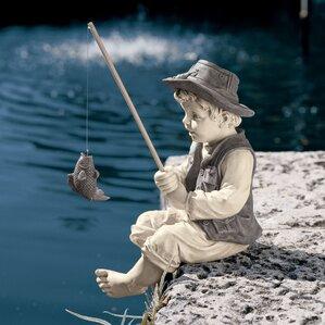 Frederic The Little Fisherman of Avignon Statue