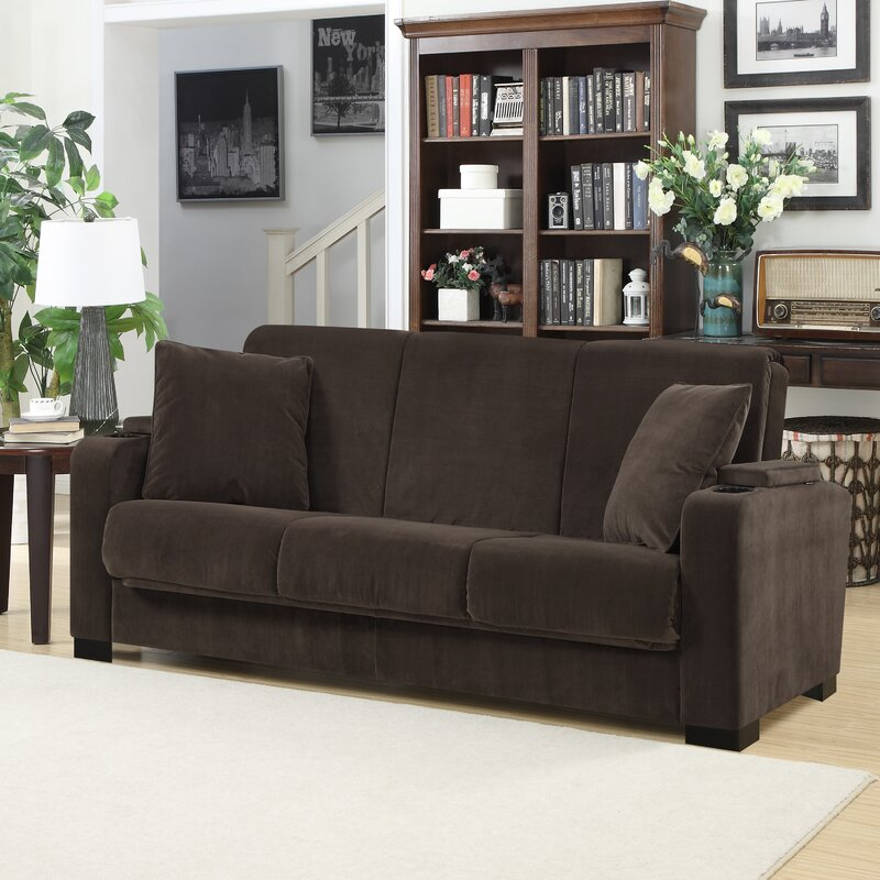 Ciera Covert a Couch Sleeper Sofa & Reviews