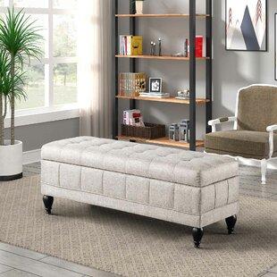 Charlton Home Unique Upholstered Storage ..