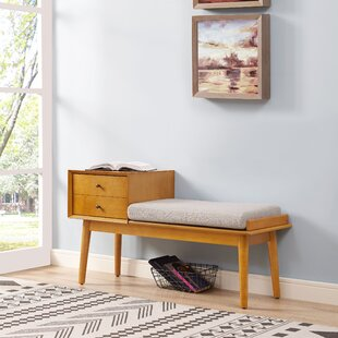Reviews Easmor Upholstered Storage Bench By Langley Street