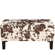 Chamberlin Polyester Upholstered Storage Bedroom Bench by Trent Austin Design
