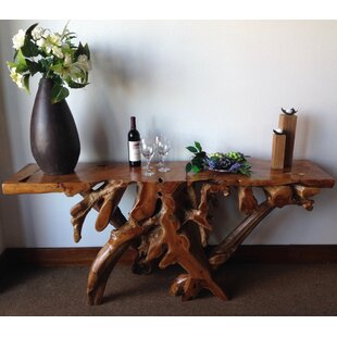 Teak Root Console Table by Chic Teak