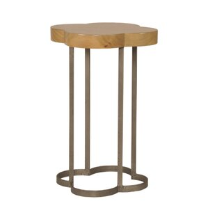 Cloverleaf End Table by Sarreid Ltd