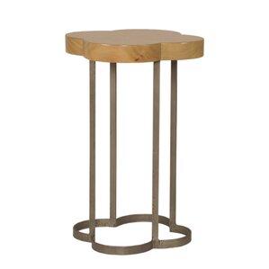 Cloverleaf End Table by Sa..