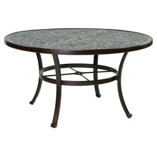Carmela Vintage Aluminum Dining Table