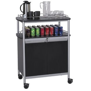 Bar Cart by Safco Products..