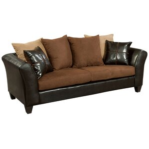riverstone sierra microfiber sofa