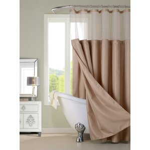beige and brown shower curtain.  Brown Shower Curtains You ll Love Wayfair