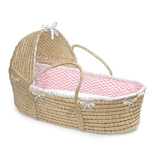 Shop For Natural Hooded Moses Basket By Badger Basket