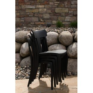 Axtell Stacking Patio Dining Chair (Set of 2)