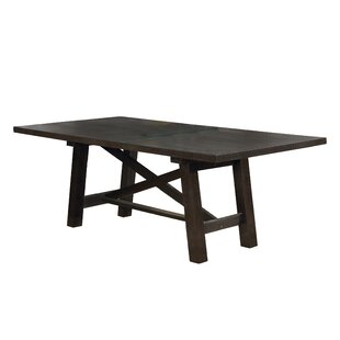 Trosclair Drop Leaf Solid Wood Dining Table