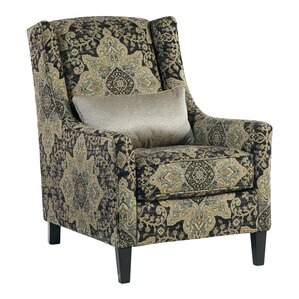 Tameem Wingback Chair by Bloomsbury Market