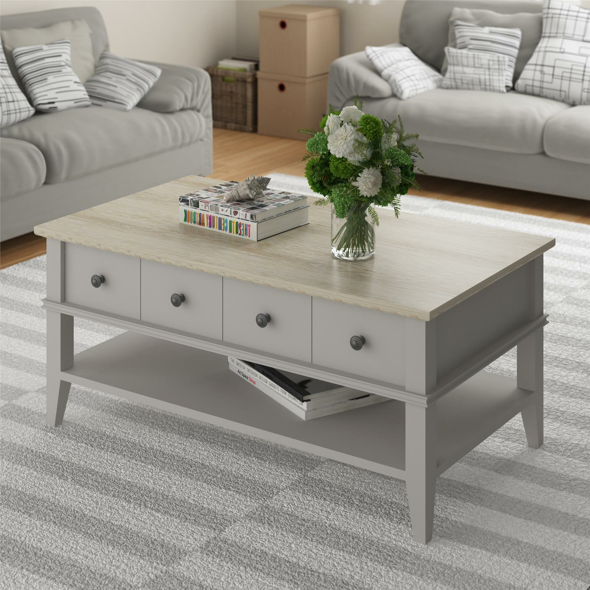 Beachcrest Home Montverde Coffee Table & Reviews