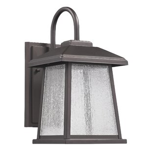 Price Check Kasey 1-Light Outdoor Wall Lantern By Latitude Run