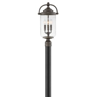 Willoughby Outdoor 3-Light Lamp Post by Hinkley Lighting