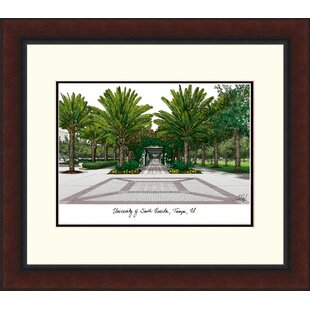 NCAA South Florida Bulls Legacy Alumnus Lithograph Picture Frame By Campus Images
