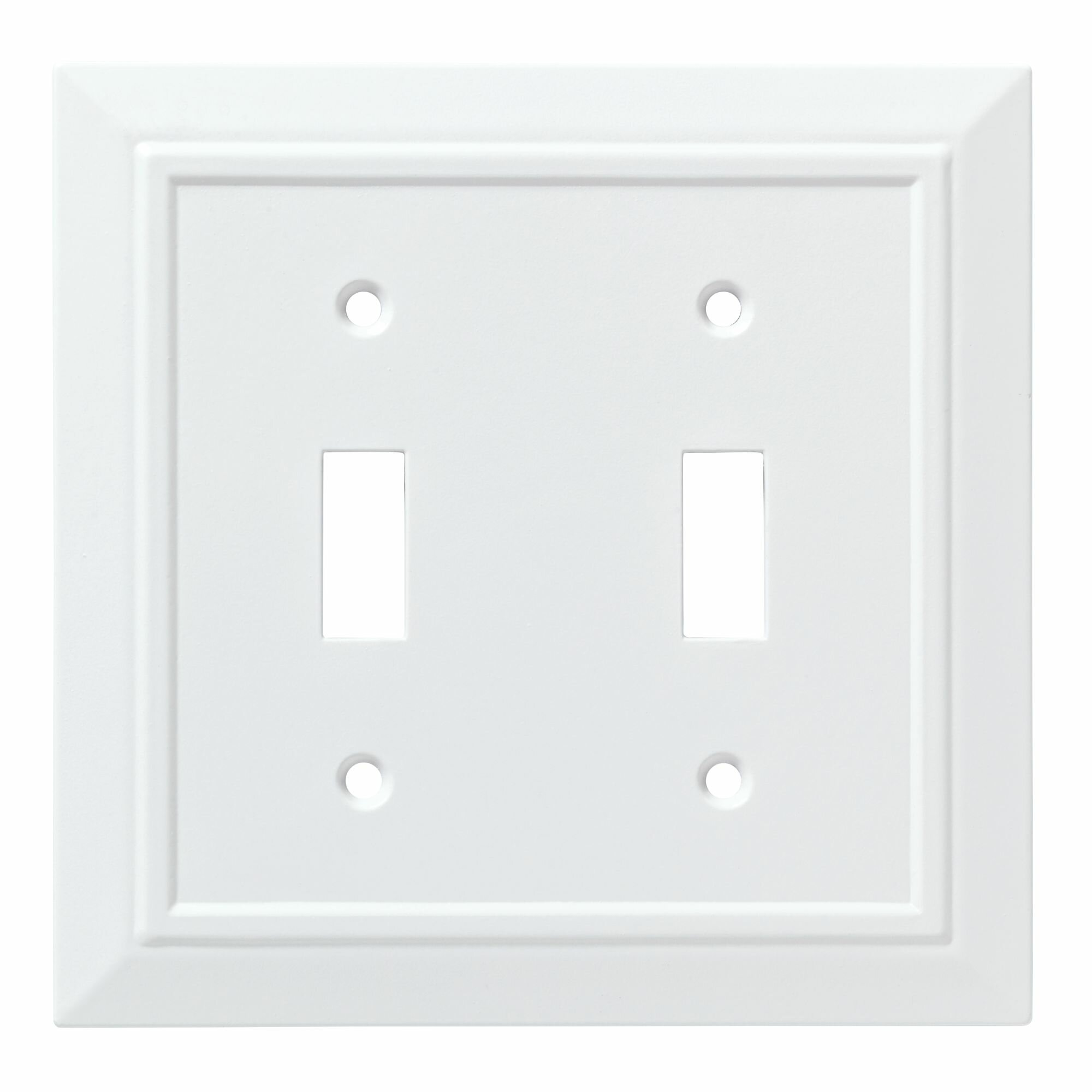 Franklin Brass Classic Architecture Double Switch Wall Plate