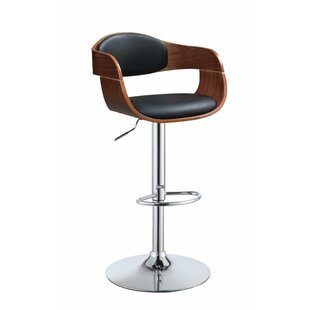 Vincent Modish Chic Adjustable Height Swivel Bar Stool