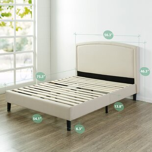 Reviews Stanhope Arched Upholstered Platform Bed by Red Barrel Studio Reviews (2019) & Buyer's Guide