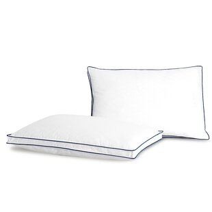 Diamond Jacquard Medium Polyester Pillow (Set of 2)