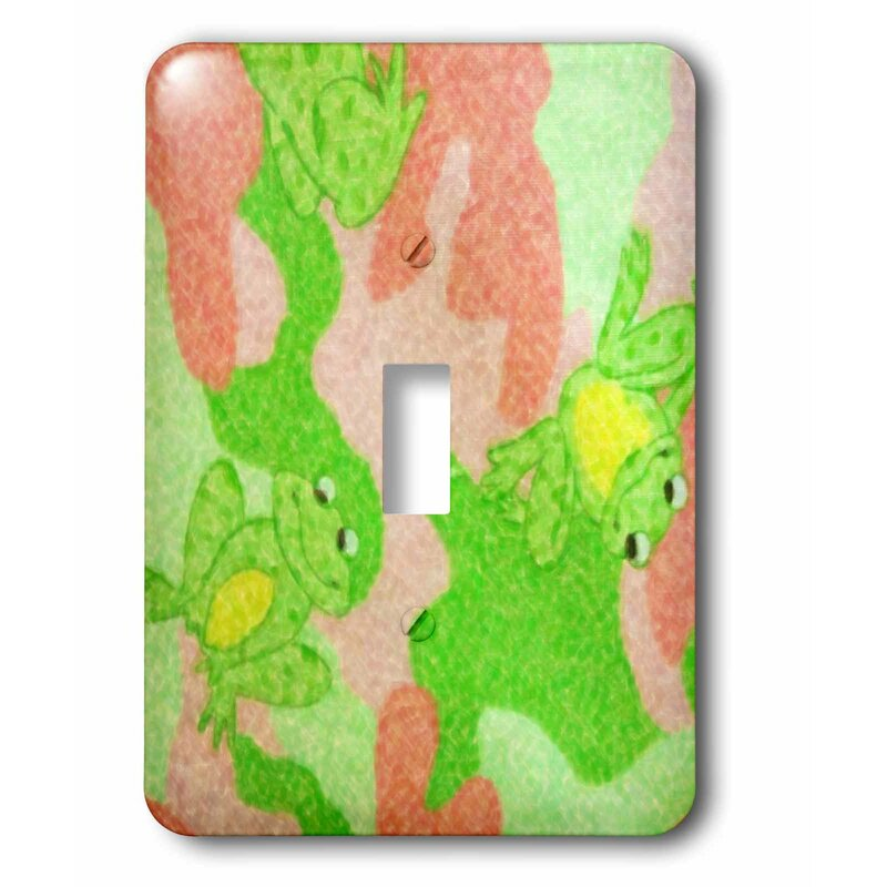 3drose Switch Leap Frog 1 Gang Toggle Light Switch Wall Plate