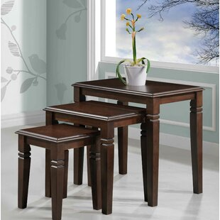 Mario Furniture 3 Piece Nesting Tables By Alcott Hill
