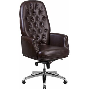 Hickox Tufted Executive Chair by Darby Home Co