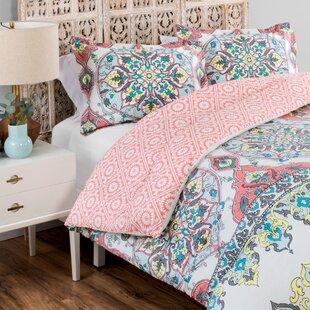 Roslyn 100% Cotton Reversible Comforter Set