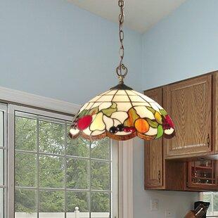 Springdale Lighting Fruits 2-Light Bowl Pendant