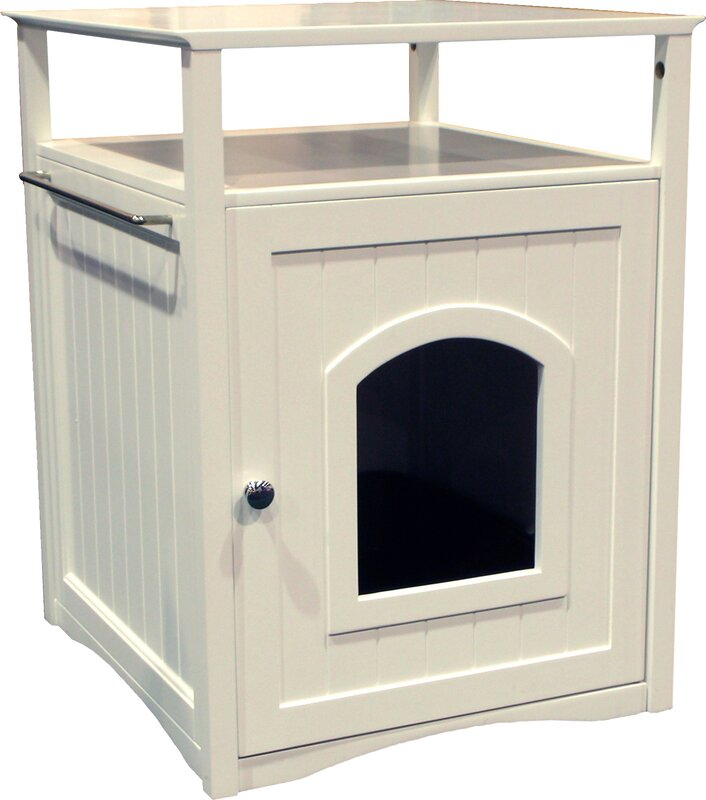 Good Allen Litter Box End Table