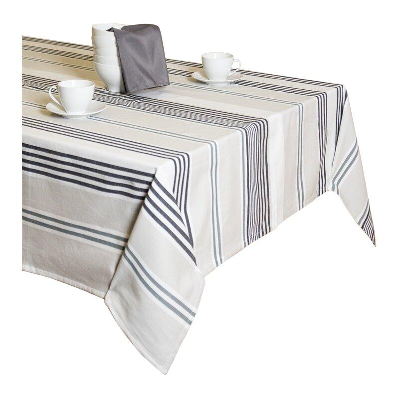 Hornsby Rectangular Cotton Tablecloth