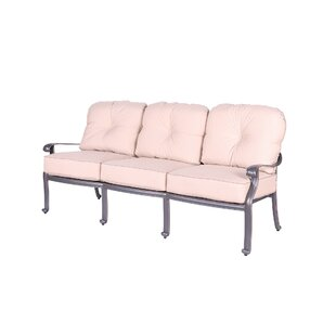 Bean Patio Sofa with Cushions