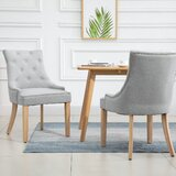Antanae Tufted Upholstered Side Chair (Set of 2) by Red Barrel Studio®