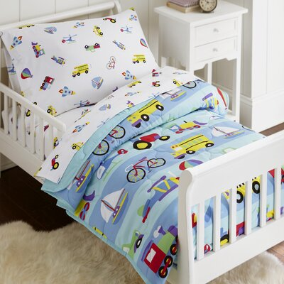 On The Go 4 Piece Toddler Bedding Set