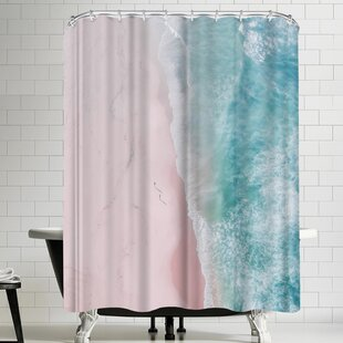 Ocean Walk Single Shower Curtain
