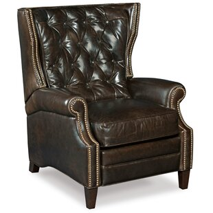 Great Reviews Balmoral Leather Manual Recliner Hooker Furniture