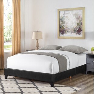 feature Find a Octavia Basic Upholstered Panel Bed By Highland Dunes
