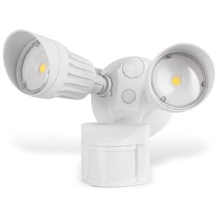 Lanza Security Waterproof 2-Light LED with Motion Sensor by Symple Stuff