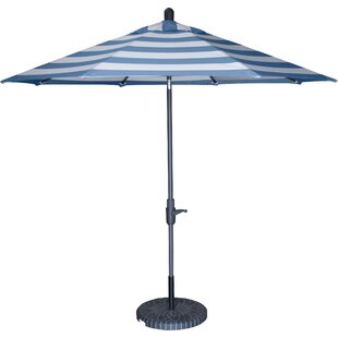 Longshore Tides Center Drive Flexible 9' Market Sunbrella Umbrella