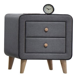Minnesota 2 Drawer Nightstand