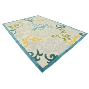 Fidela Blue Indoor/Outdoor Area Rug