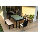 Hermina 6 Piece Sunbrella Dining Set with Cushions