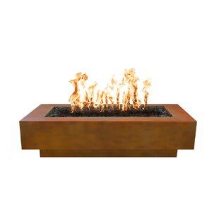The Outdoor Plus Coronado Steel Fire Pit