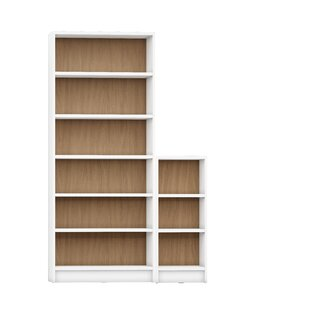 Latitude Run Dorthy 2 Piece Standard Bookcase