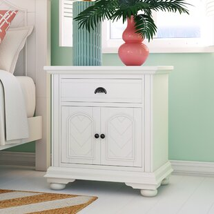 Tarquin 1 Drawer Nightstand by Beachcrest Home