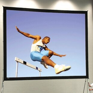 Fast Fold Deluxe Portable Projection Screen by Da-Lite Spacial Price